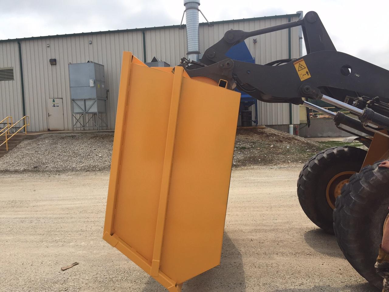 Moving Company Reviews >> Forklift Dumpsters - SAS Forks