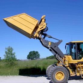 Forklift Dumpster Buckets - SAS Forks