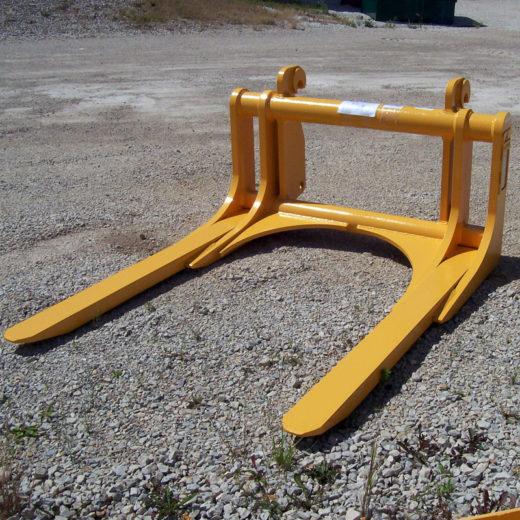 Forklift Salvage Yard Crushing Forks - SAS Forks