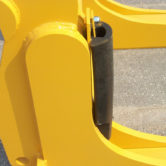 Forklift Vertical Car Body Bumpers - SAS Forks