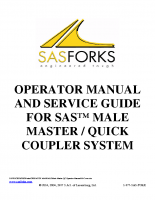 Quick Coupler Male Master Manual
