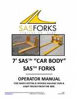 Car Body Forks Manual