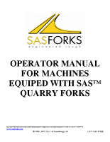 Quarry Forks Safety Manual