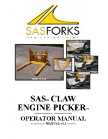 Claw Engine Picker Manual